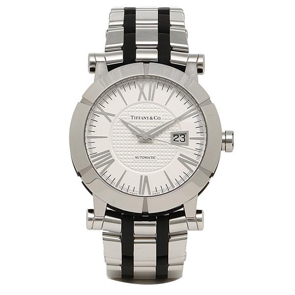 【48時間限定ポイント10倍】ティファニー TIFFANY & Co 時計 腕時計 メンズ ティファニー 時計 メンズ TIFFANY&Co Z10007012A21A00A 自動巻 ATLAS アトラス GENT 腕時計 ウォッチ シルバー