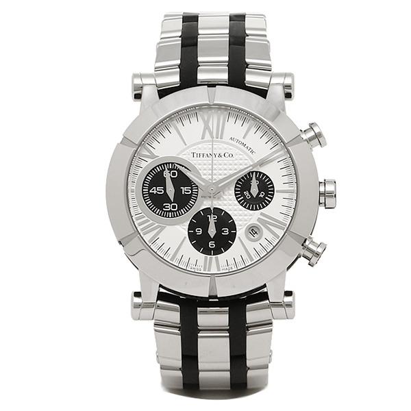 【期間限定ポイント5倍】ティファニー TIFFANY & Co 時計 腕時計 メンズ ティファニー 時計 メンズ TIFFANY&Co Z10008212A21A00A 自動巻 ATLAS アトラス GENT 腕時計 ウォッチ シルバー/ブラック