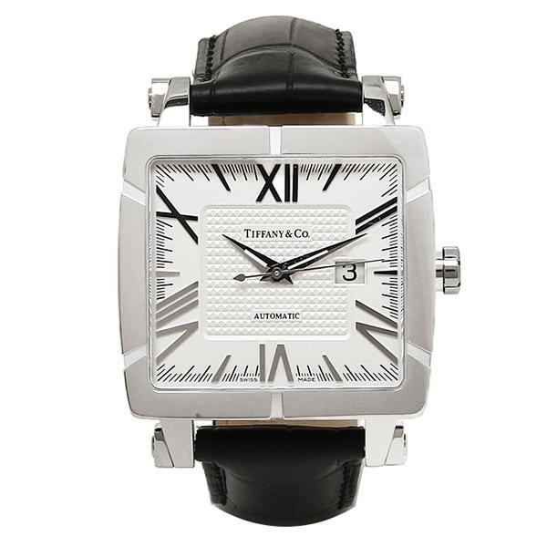 【期間限定ポイント5倍】ティファニー TIFFANY & Co 時計 腕時計 メンズ ティファニー 時計 メンズ TIFFANY&Co Z11007012A21A71A 自動巻 ATLAS アトラス GENT SQUARE 腕時計 ウォッチ シルバー