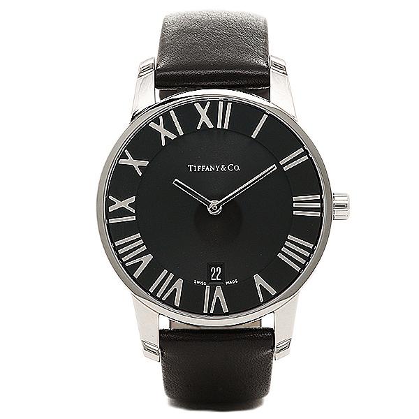 【48時間限定ポイント10倍】【返品OK】ティファニー TIFFANY & Co 時計 腕時計 メンズ ティファニー 時計 メンズ TIFFANY&Co Z18001110A10A52A ATLAS DOME アトラス 腕時計 ウォッチ ブラック