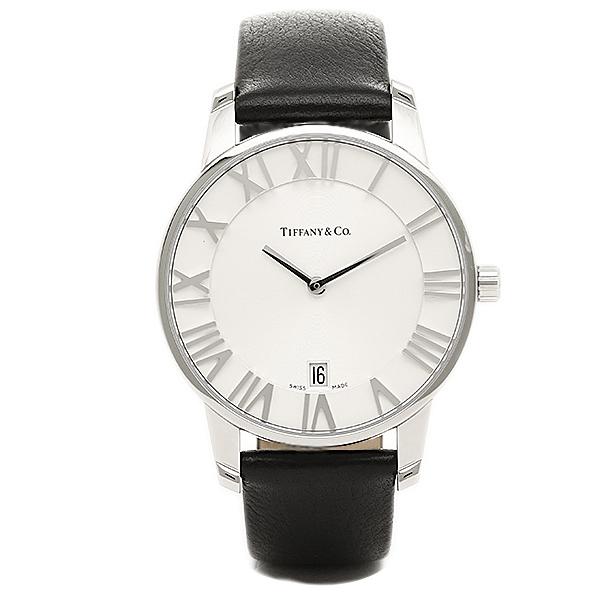 【返品OK】ティファニー TIFFANY & Co 時計 腕時計 メンズ ティファニー 時計 メンズ TIFFANY&Co Z18001110A21A52A ATLAS DOME アトラス アトラス ドーム 腕時計 ウォッチ ブラック/シルバー