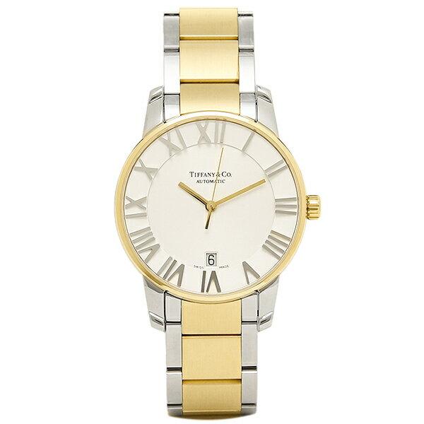【期間限定ポイント10倍】ティファニー TIFFANY & Co 時計 腕時計 メンズ ティファニー 時計 メンズ TIFFANY&Co Z18006815A21A00A 自動巻 ATLAS DOME アトラス 腕時計 ウォッチ シルバー