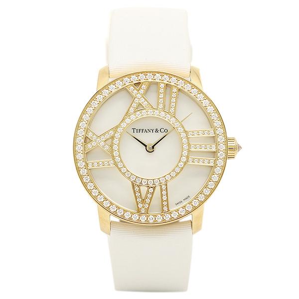 ティファニー TIFFANY & Co 時計 腕時計 ティファニー 時計 レディース TIFFANY&Co Z19011050E91A40B ATLAS COCKTAIL ROUND 腕時計 ウォッチ ホワイトパール