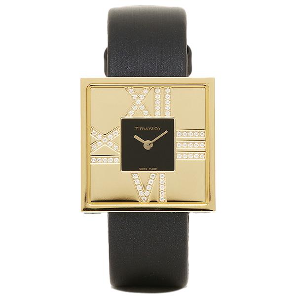 ティファニー TIFFANY & Co 時計 腕時計 ティファニー 時計 レディース TIFFANY&Co Z19501050E10A40E ATLAS COCKTAIL SQUARE LADY 腕時計 ウォッチ ブラック