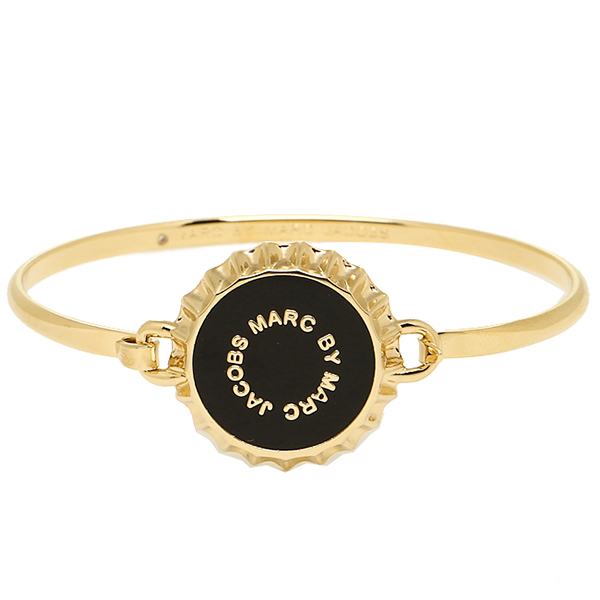 Marc by Marc Jacobs MARC BY MARC JACOBS M0006544 001 BOTTLE TOP HINGE BRACELET Bangle gold / black