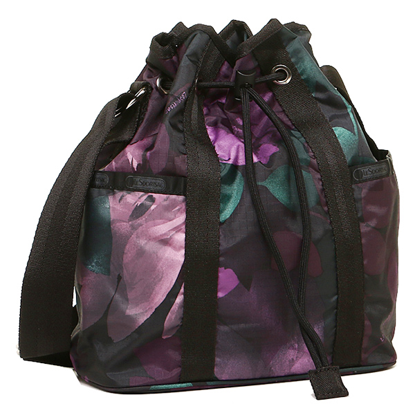resupotosakkubaggu LESPORTSAC 8265 D656 BUCKET BAG挎包女士SPLENDOR NIGHT