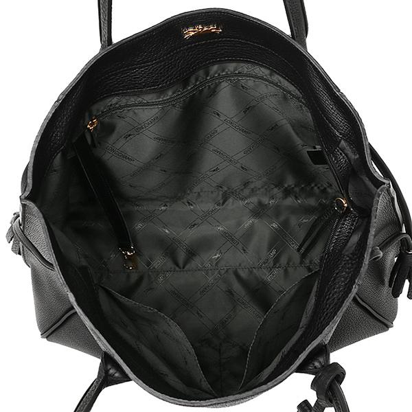 Longchamp Bags 1297 843 001 Penelope Shoulder Bag Tote Black
