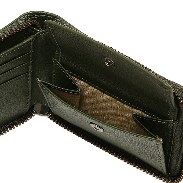 Marc by Marc Jacobs wallet men's MARC BY MARC JACOBS M0006430 315 CLASSIC LEATHER SCOTT 2 single fold wallet WORKWEAR FATIGUE