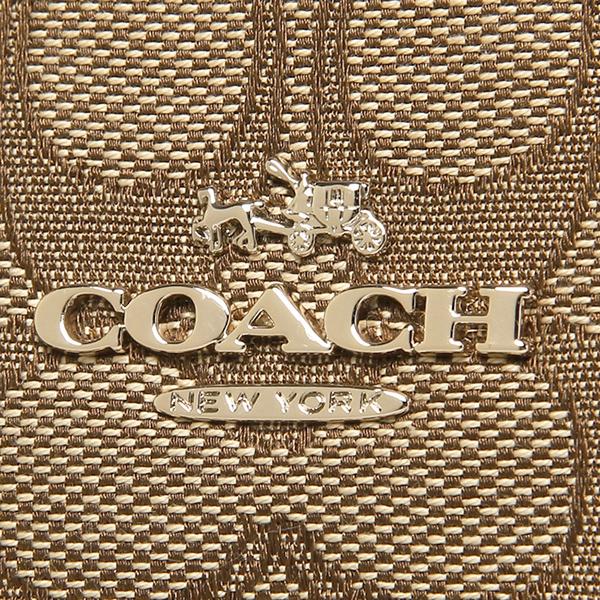 教练挎包奥特莱斯COACH F36625 IMC7C黄褐色棕色