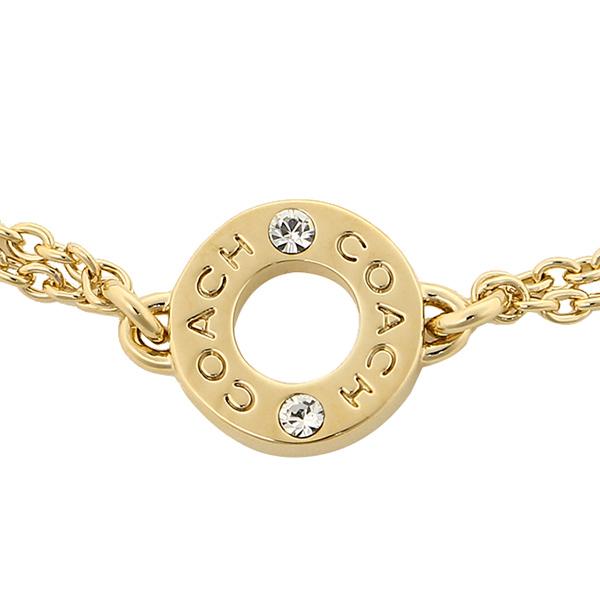 COACH Bracelet  direct selling COACH F90303 GD / GD  fine bracelet with open loop Bracelet/bangle  gold