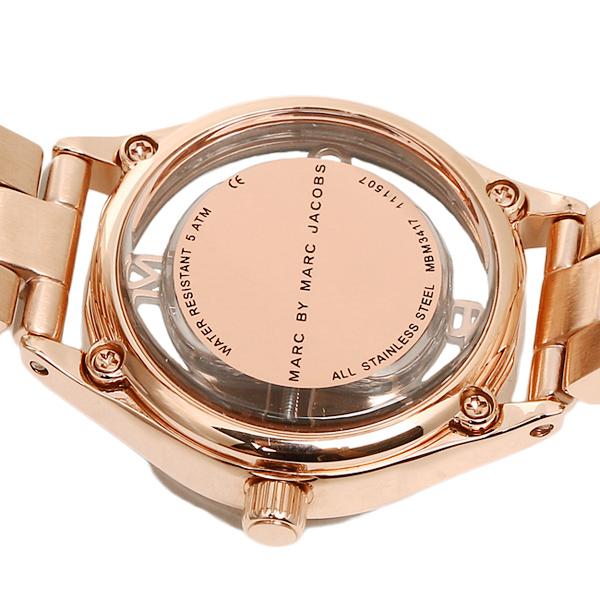 마크바이마크제이코브스 시계 MARC BY MARC JACOBS MBM3417 TETHER 티자브레스렛트 손목시계 워치 로즈 골드