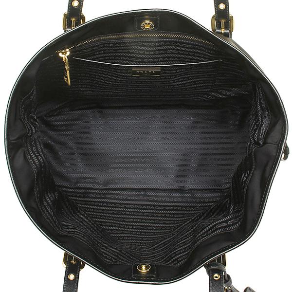 프라다 가방 PRADA BR4997 ZMY F0002 TESSUTO/SAFFIANO 토트 백 NERO