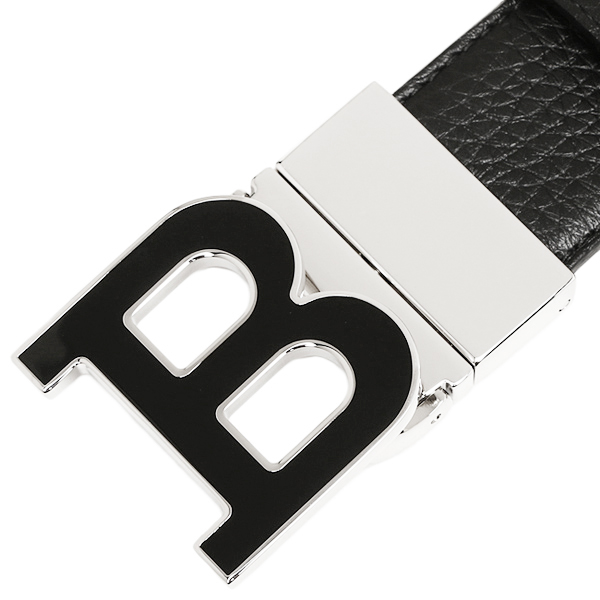 巴里皮带BALLY 6200128 340 BALLY ICONIC BUCKLE B BUCKLENAMEL 35 M BLACK