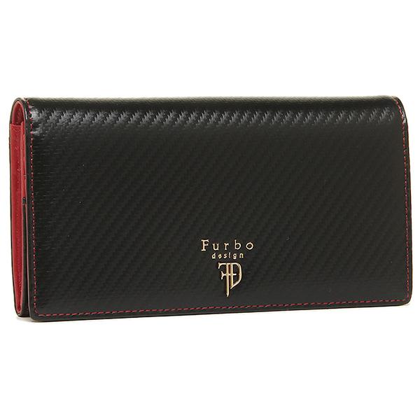 【24時間限定ポイント5倍】フルボデザイン 財布 メンズ Furbo design FRB112 フィレンツェシリーズ 長財布 BLUEACK/RED