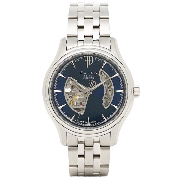 フルボデザイン 時計 メンズ Furbo design F5025BLSS 腕時計 ウォッチ ブルー/シルバー