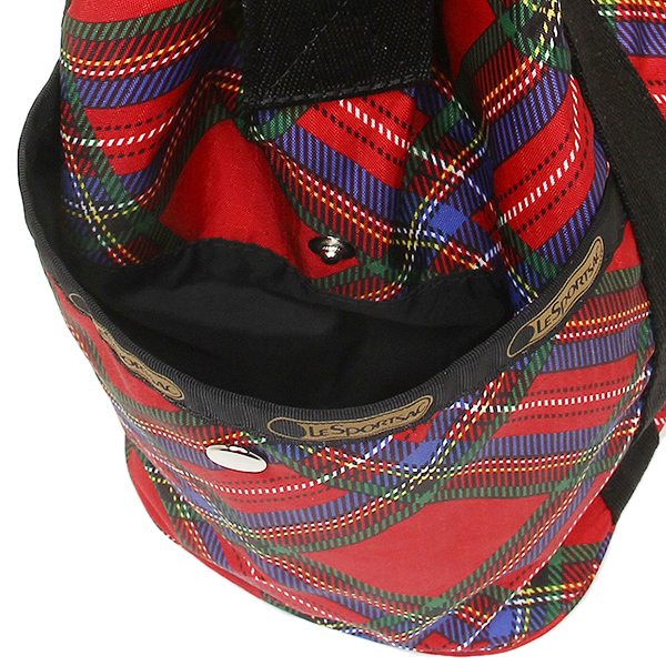 레스포트삭크밧그 LESPORTSAC 레이디스 8265 D691 BUCKET BAG 숄더백 COZY PLAID RED