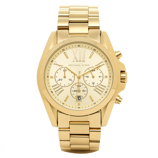 3ce668426252 Brand Shop AXES  Michael Kors watch Lady s MICHAEL KORS MK5605 gold ...