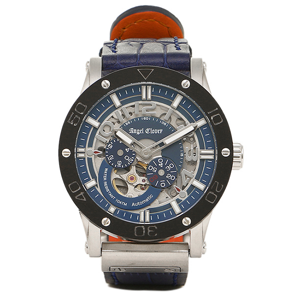 エンジェルクローバー 時計 ANGEL CLOVER EVA43SNV-NV EXVENTURE エクスベンチャー 自動巻き 腕時計 ウォッチ ネイビー