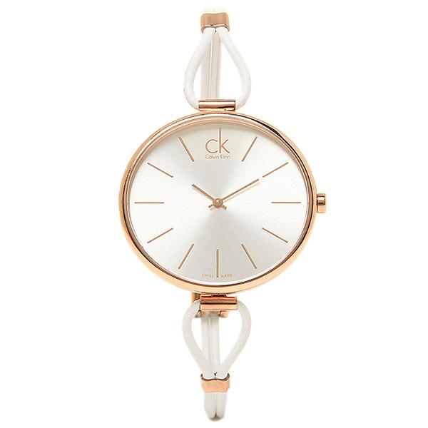 レディース K3V236.L6 SELECTION シルバー/ピンクゴールド/ホワイト セレクション 時計 ウォッチ CALVIN カルバンクライン 腕時計 KLEIN