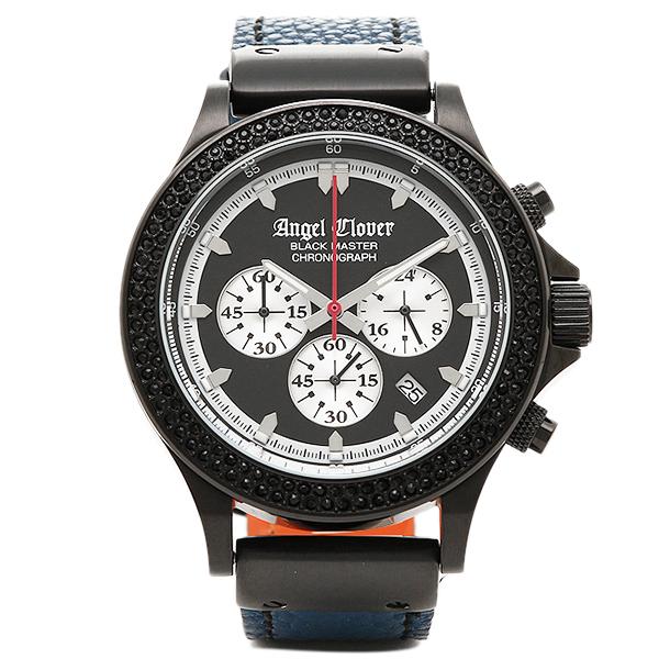 【返品OK】エンジェルクローバー 時計 ANGEL CLOVER BM46BNB-LMT BLACKMASTER ブラックマスター 限定モデル 腕時計 ウォッチ ブラック/ブルー
