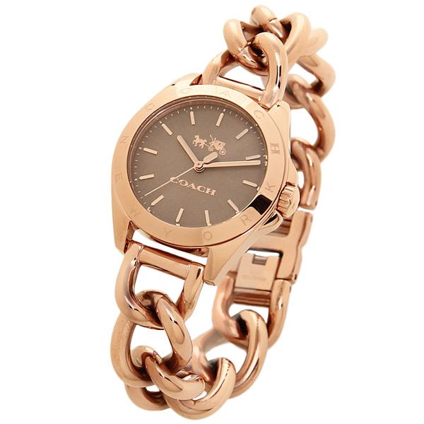 코치 손목시계 COACH 14502311 로즈 골드
