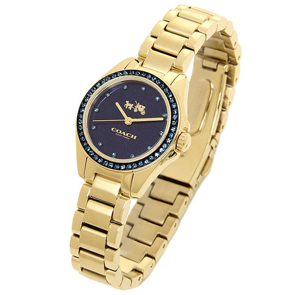 c4c2e10645422 Brand Shop AXES  Coach watch COACH 14502344 gold is blue