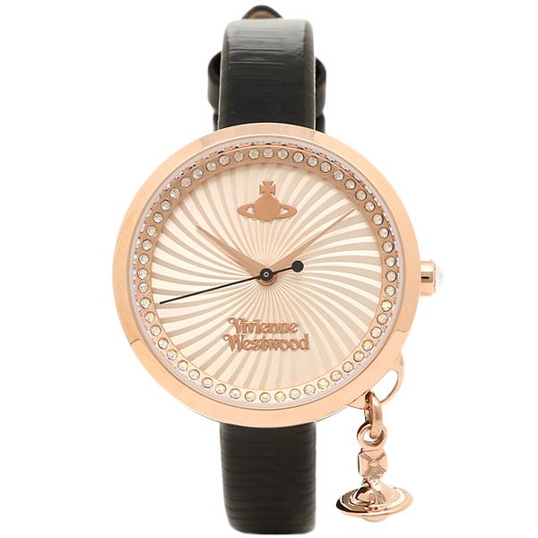 【返品OK】ヴィヴィアンウエストウッド 腕時計 VIVIENNE WESTWOOD VV139RSBK ゴールド ブラック