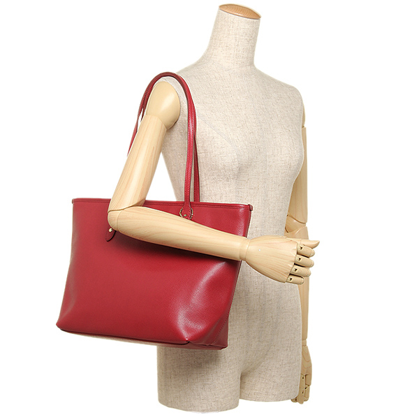 classic coach bags outlet q5ao  Coach bags outlet COACH F36875 IME8B cross-grain leather city zip top Tote  classic red