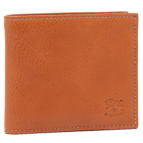 【24時間限定ポイント5倍】イルビゾンテ 財布 IL BISONTE C0817 P 145 メンズ 二つ折り財布 CARAMEL