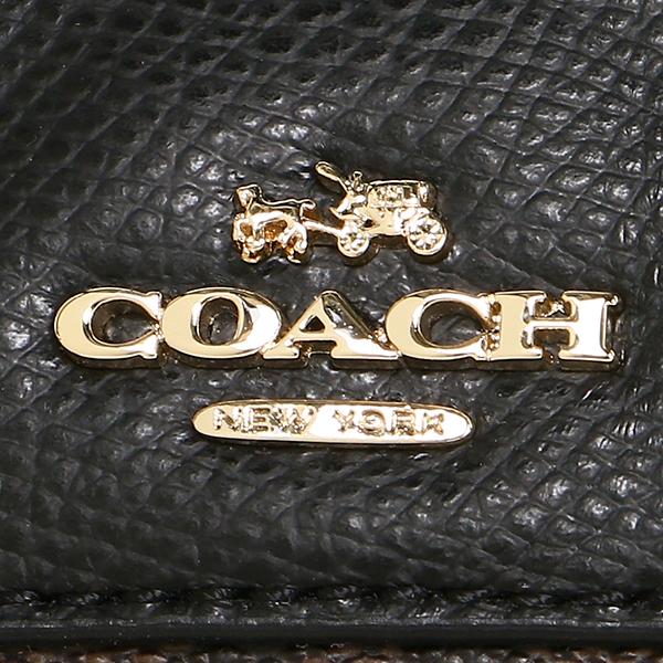 코치 숄더백 아울렛 COACH F36702 IMAA8 브라운 블랙
