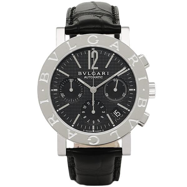 【4時間限定ポイント10倍】ブルガリ 時計 メンズ BVLGARI BB38BSLDCH 101375 ブルガリブルガリ 自動巻き 腕時計 ウォッチ ブラック/シルバー