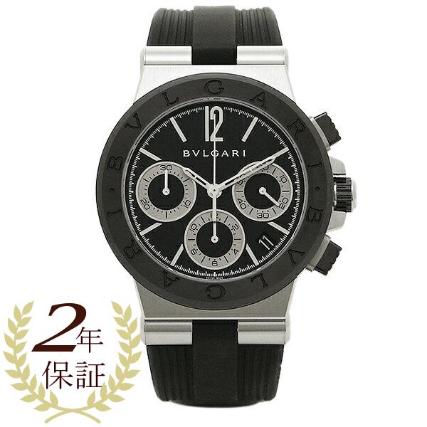 【期間限定ポイント5倍】ブルガリ 時計 メンズ BVLGARI DG37BSCVDCH 102549 ディアゴノ 自動巻き 腕時計 ウォッチ ブラック