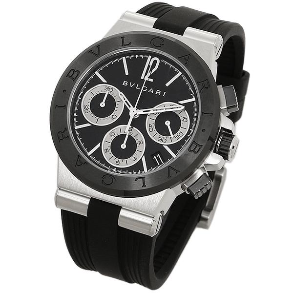 online retailer adb89 4f678 ブルガリ 時計 メンズ BVLGARI DG37BSCVDCH 102549 ディアゴノ 自動巻き 腕時計 ウォッチ ブラック|ブランドショップ  AXES