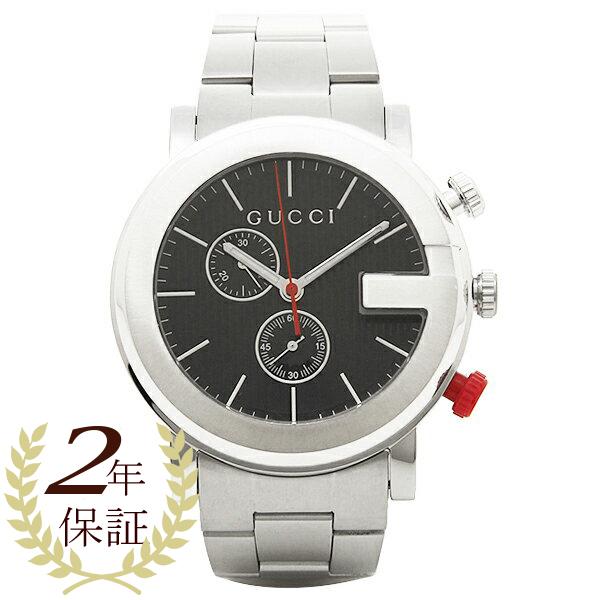 【4時間限定ポイント5倍】グッチ 時計 メンズ GUCCI YA101361 Gクロノ 腕時計 ウォッチ ブラック
