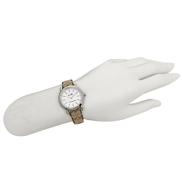 coach watch outlet 7poi  Coach watches outlet W6053 KHA COACH mini Lexington signature watches khaki
