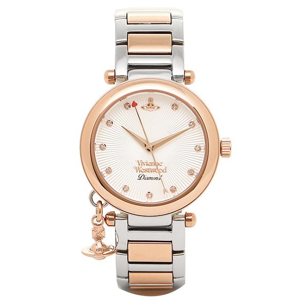 【返品OK】ヴィヴィアンウエストウッド 腕時計 VIVIENNE WESTWOOD ゴールド シルバー