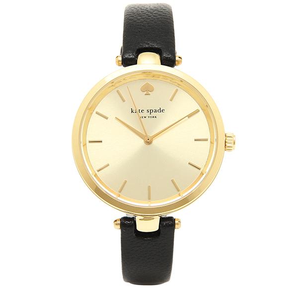 【24時間限定ポイント5倍】ケイトスペード 腕時計 レディース ゴールド ブラック 1YRU0811