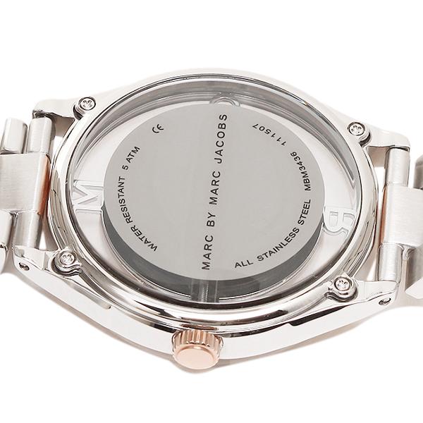 마크바이마크제이코브스 시계 MARC BY MARC JACOBS MBM3436 TETHER 티자 손목시계 워치 실버/골드