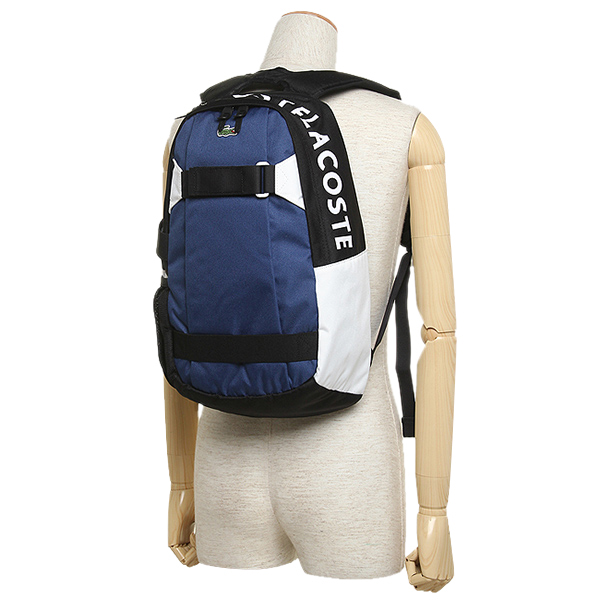 라코스테밧그 LACOSTE NH1438UG 716 URBAN GAME BACKPACK 배낭 백 팩 ELECTRIQUE NOIR BLANC