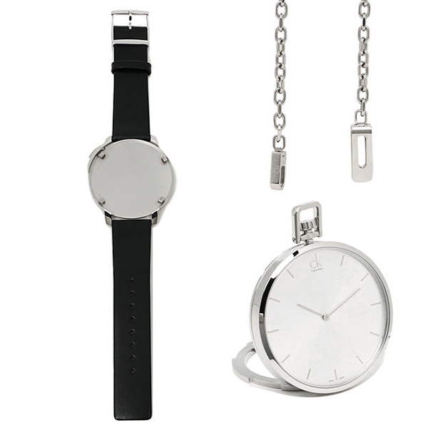 【期間限定ポイント5倍】【返品OK】カルバンクライン 時計 メンズ CALVIN KLEIN K3Z211.C6 EXCEPTIONAL エクセプショナル 腕時計 ウォッチ シルバー/ブラック
