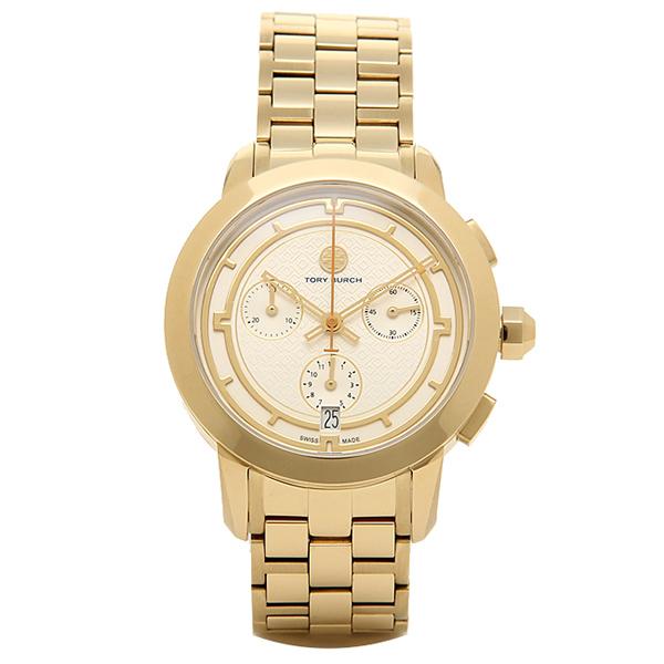 【24時間限定ポイント5倍】トリーバーチ 腕時計 TORY BURCH TRB1000 レディース アイボリ-/イエロ-ゴ-ルド