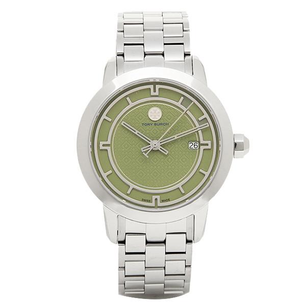 【30時間限定ポイント5倍】トリーバーチ 腕時計 TORY BURCH TRB1007 レディース グリ-ン/シルバ-