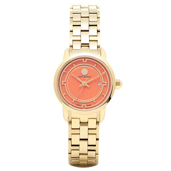 【2時間限定ポイント10倍】トリーバーチ 腕時計 TORY BURCH TRB1012 レディース オレンジ/イエロ-ゴ-ルド