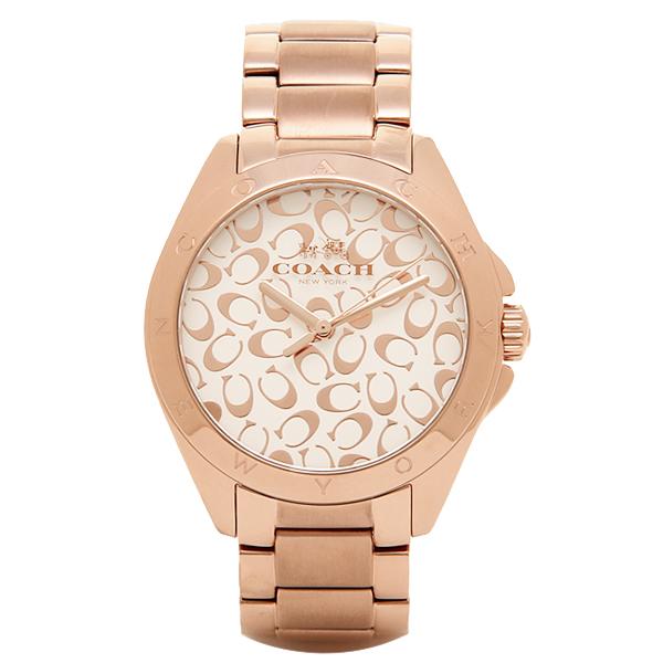 코치 손목시계 COACH 14502349 핑크 골드