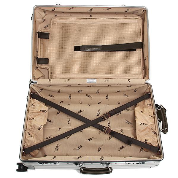 리모와스트케이스 RIMOWA 971.52. 00.4 CLASSIC FLIGHT 클래식 플라이트 55 CM 33 L 1박용 4륜 TSA 락 캬 리 케이스 SILVER