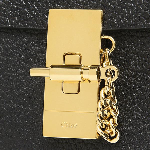 크로에밧그 CHLOE 레이디스 3 S1038 944 001 드류 DREW NANO SADDLE BAG 숄더백 BLACK