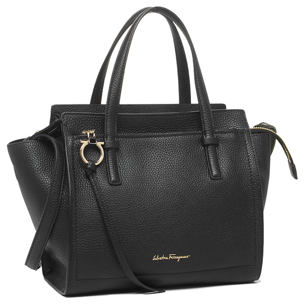 293eaecd2299 Salvatore Ferragamo bag Salvatore Ferragamo 21F478 0625051 GANCIO SHOPPING  shoulder bag NERO