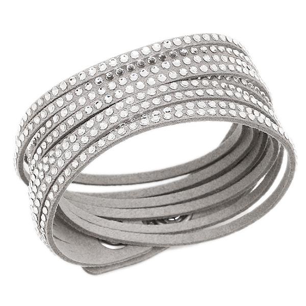 Swarovski Accessories 5181989 Slake Bracelet Lady S Gray