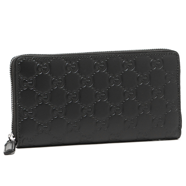 c4e01679cd4d Gucci wallet GUCCI 307987 CWC1R 1000 AVEL GG leather long wallet NERO