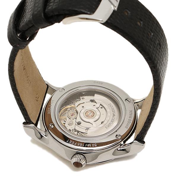 emporioarumani钟表人EMPORIO ARMANI ARS3101 SWISS MADE瑞士佣人手表表黑色